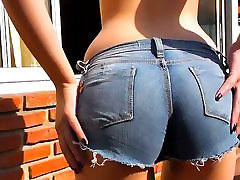 Little Redhead rusian les sex Cameltoe and Masturating
