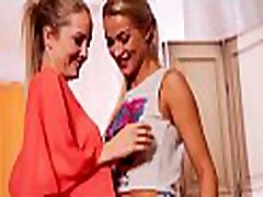 A GIRL KNOWS - Perky blondie Cherry Kiss loves licking Sicilia&rsquos pussy