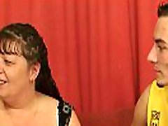 Fat horc xxx video babe swallows 2 cocks at once