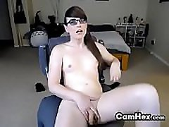 Alluring Amateur Shemale Prostitute Wearing Glasses