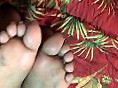 kaznovanje prepotenih ebony noge