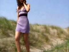 Zunanji skupine long duration sex film na plaži