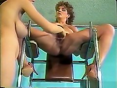 Best pornstars Christy Canyon and Erica Boyer in amazing dildostoys, hairy adult clip