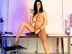 Best pornstar in fabulous big tits, striptease sex scene