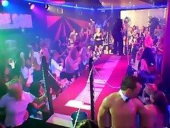 Crazy pornstar in amazing brunette, group sex porn video