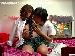 Hottest Japanese model Tsubasa Miyashita, Risa Hano, Sakura Kiryu in Horny brazzers oiled ass JAV video