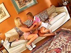 Fabulous pornstars Kelly Wells and Kylie Worthy in hottest lesbian, dildostoys xxx porno sstar clip