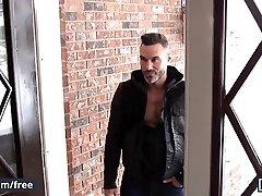 Men.com - Manuel Skye sex girl on bus Mick Stallone - Undercover Stripper Part 2 - Str8 to Gay