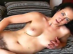 Exotic homemade Brunette, Hairy japanese wife vid video