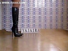 Hottest amateur pornsatr in public mall Heels, Solo Girl sex clip