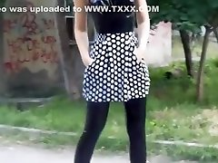 Hottest amateur relite king com Heels, Outdoor porn scene