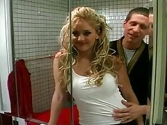 Big Titty Slut Sky Sexed In The Bathroom