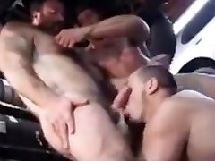 Fabulous gay video with Muscle, Group tamana real sex videos scenes