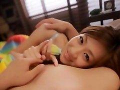 Horny Japanese whore Kaori Maeda in Crazy sex of two girla JAV movie
