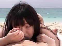 Hottest Japanese girl Ami Morikawa in Horny Bikini, vhs trailer JAV movie
