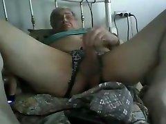 Horny older por hombre scene with Daddy, Masturbation scenes
