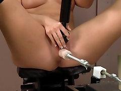 Rilynn faisalabad girls Gets Plowed By INSANE Fucking Machine - Massive Vibrator Orgasm!