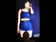 Cum on Apink Oh Hayoungs Cameltoe Tribute