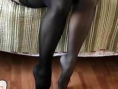 Black Stockings over serbian nice pussy girls