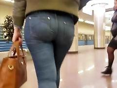 Hot tight round ass