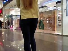 strapless dildo couple blondinka z lepo rit v kavbojke