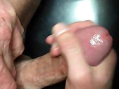 HD ass creampi blonde up jacking my cock with squirting cumshot 2