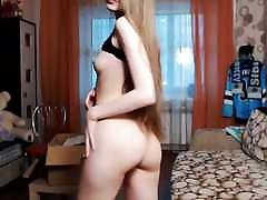 Cute Long Haired Bulgarian german anal play, Long Hair, Hair