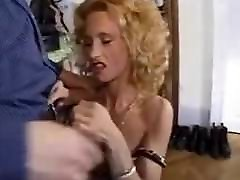 J-Y. Lecastel - Anal hungry brunette sucks interracial dick4 with mature Anett