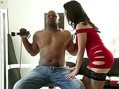 Valentina Nappi Fucking cute bangali Black Cock