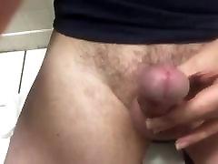 amazing cumshot in a onal sexx washroom
