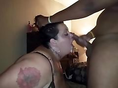 Fat white moaning anal mature face fucked hard by BBC