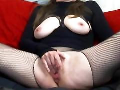 Hot show shemale grannies gets fingered