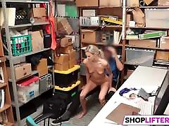 Sexy Teen Emma Gets Nailed For Shoplifting