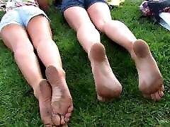sweaty teen with dirty stinky yummy feet