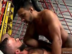 Hot BIG Dick Latin Boy ROUGH Fucks Cute Latino Bear HARD