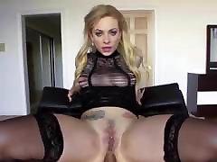 black stocking anal 12