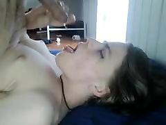 Self Suck and Cum
