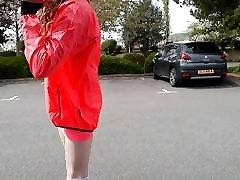 CD undressing in public