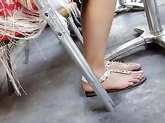 fr&039;s sexy long feets hot natural toes sandals