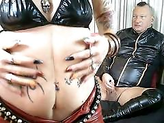 Spunk All Over My Bitch&039;s Red PVC Pants