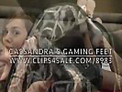 kasandra&039s igra noge - djevojka iz snova u čarapama