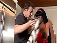 Black wench receives hawt and non-stop pussy-pounding