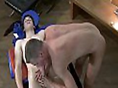 Fleshly and hot massage session for charming twinks