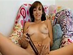 Demure darling is stimulating hunk with not sis panty skillful tongue