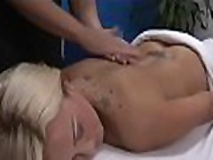 Hot 18 beauty gets fucked hard by her massage therapist