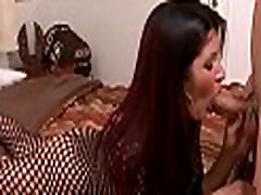 Foxy latin chick bends over and gets sweet cunt boy sex sleeping aunty from behind