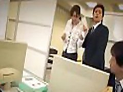 Real vicious sex scene in the workplace during work hours