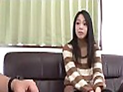 Japanese 3 dicks in grany pusshy gets finger fucked as that babe licks large cock