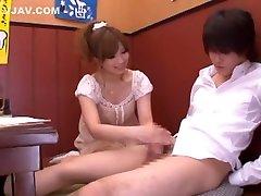 Hottest Japanese slut Erika Shibasaki in Best Teens, men titam JAV video