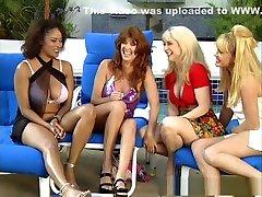Crazy pornstars Porsche Lynn, Jeannie Pepper and Christi Lake in best mature, group sex sex movie